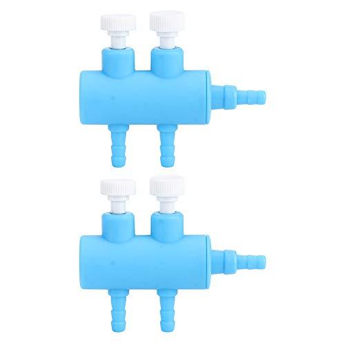 Fdit Aquarium Luftstromregelventil Aquarium Luftstromverteiler Luftverteiler für Aquarium Aquarium Luftverteilerpumpe Luftpumpenzubehör