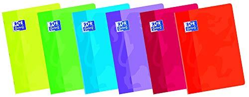 Oxford Classic 100105714 - Pack de 10 libretas grapadas de tapa blanda, A5+ ✅
