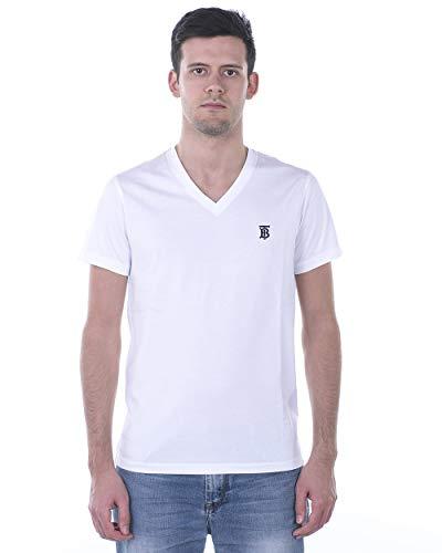 BURBERRY - Mann T-Shirt 8017258 8017258 Weiss MARLETT XXXL
