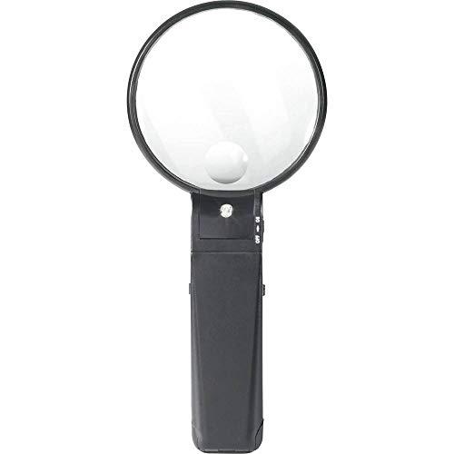 Toolcraft STIELLUPE MIT Beleuchtung 2X/4X Fach