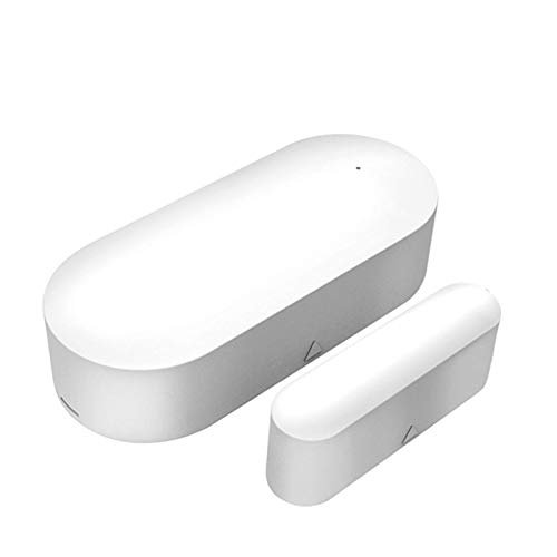 STARMOON Tuya Wifi Smart Door and Window Sensor, APP Remote Monitoring, Home Anti-robo Alarma, Adecuado para puertas, ventanas, armarios, cajones