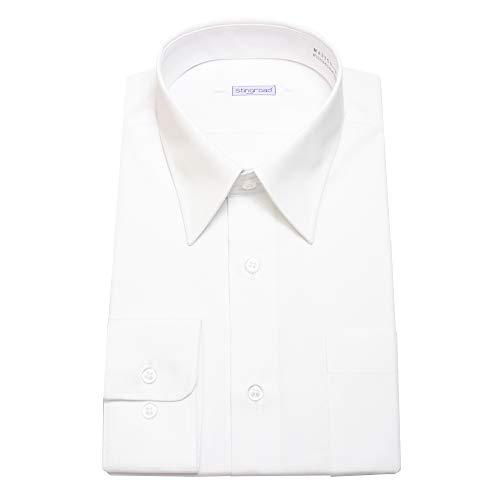 [スティングロード] 男子スクールシャツ 男子 長袖 学生用 スクールシャツ 形態安定 制服 Yシャツ カッターシャツ MA3100-AM-1 ホワイト 日本 185A (日本サイズXL相当)