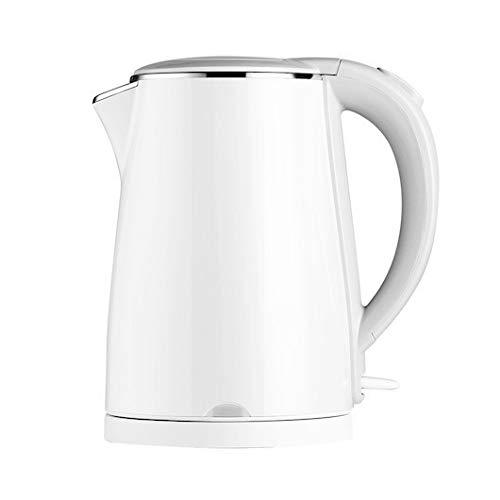 LCSD Wasserkocher Haushalt Lebensmittelqualität 304 Edelstahl klein praktisch kochend Wasserkocher 1,5 l große Kapazität drei Schichten Anti-Verbrühun...