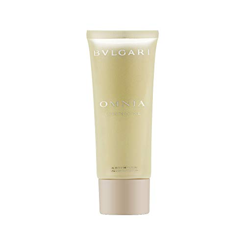 Bulgari Omnia Crystalline Femme/Women, Bath and Shower Gel, 1er Pack (1 x 100 g)