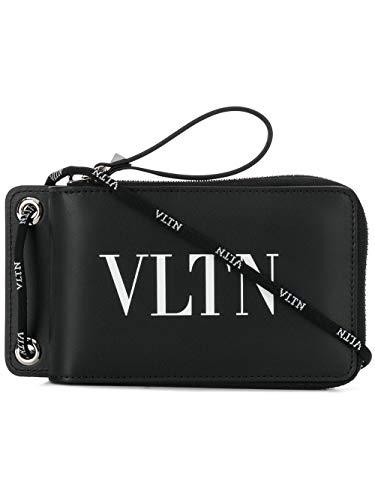 Luxury Fashion   Valentino Heren TY2P0P90LVN0NO Zwart Leer Portemonnees   Lente-zomer 20