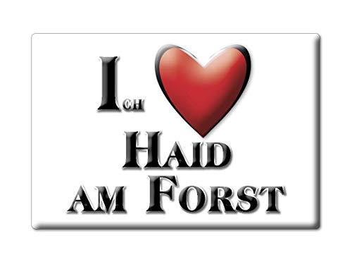 Enjoymagnets HAID AM Forst (by) Souvenir Deutschland Bayern Fridge Magnet KÜHLSCHRANK Magnet ICH Liebe I Love