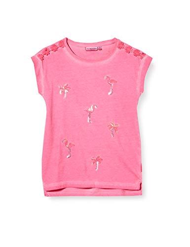 Salt & Pepper Mädchen 03112284 T-Shirt, Rosa (Magenta 874), (Herstellergröße: 92/98)