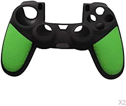 D DOLITY Soft Silicone Skin Gel Cover Case For Playstation 4 PS4 Controller Green