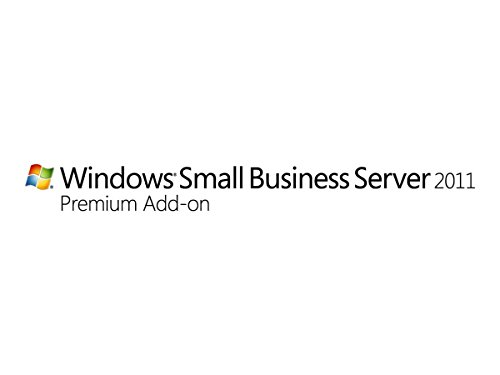 Systembuilder Windows Small Business Server PremAdd CAL Std 2011 64Bit Deutsch 1pk 1 Clt User CAL [import allemand]