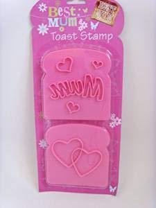 Homestreet Perfect Praktisch cadeau voor mama, mama in een miljoen compacte spiegel, mama ballon, toast stempel, moeders dag of verjaardagscadeau Stamp