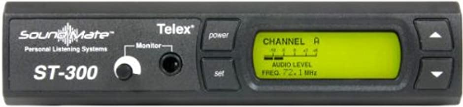 Telex ST-300 Assistive Listening 17-Channel Base Transmitter, 70-Volt, Selectable Frequency