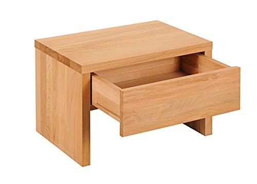 Main Möbel Nachttisch 50x35cm Kernbuche geölt