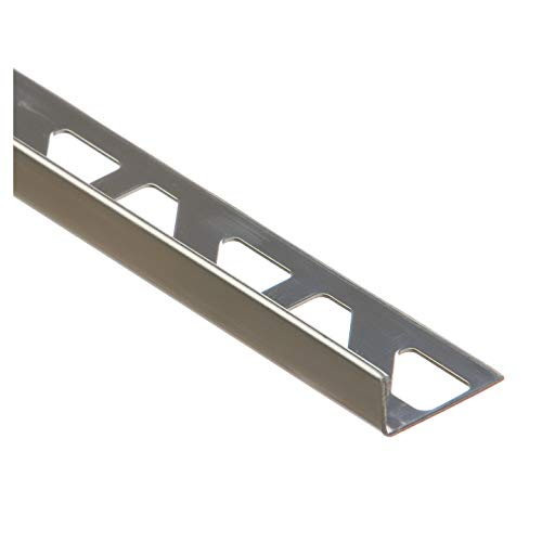 CEZAR W-SN-L10-N-100, Natur Form L-Profil 10mm 1,0m Edelstahl Fliesenschiene, x