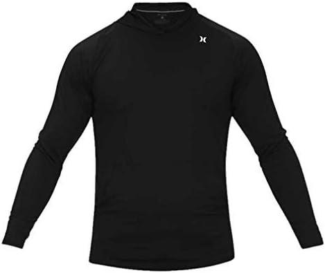 Hurley Men's Nike Dri-fit Long Sleeve Sun Protection +50 UPF Rashguard Shirt