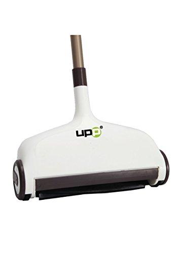 UPP® Aspirateur manuel pour sol et moquette (inclus 2 brosses de remplacement)