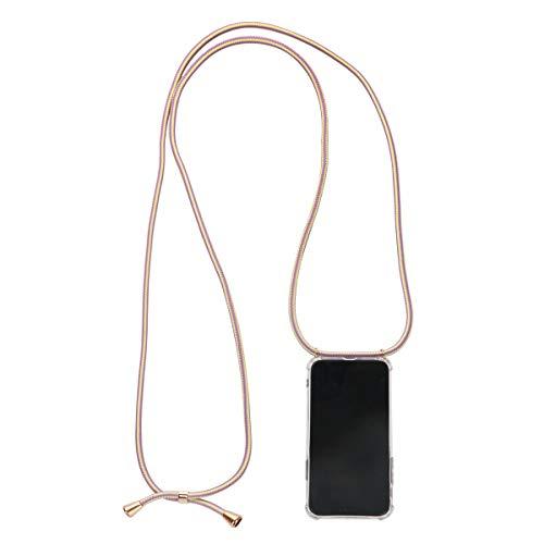 Preisvergleich Produktbild Sonia Originelli Handykette Passend für iPhone X / Xs Schnur Necklace Hülle Smartphone Cover Farbe Vanilla Berry