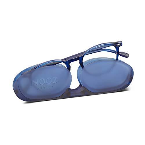 Nooz Optics - Blaulicht Brille für 3-6 Jahre Kinder - Oval Form - Navy Blue Farbe - Cruzy Collection