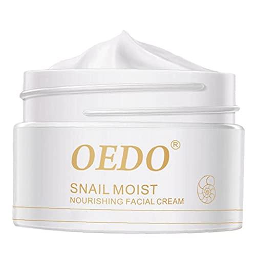 NiceJoy Caracol Crema Hidratación para Las Mujeres Blanqueadora Crema reafirmante de Belleza Cuidado de la Piel
