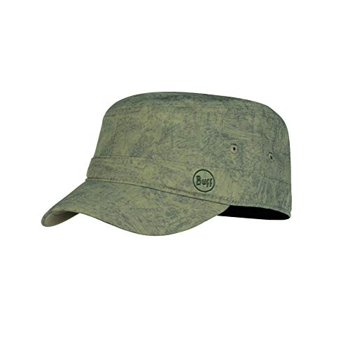 Buff Zinc Casquette Military Mixte Adulte, Taupe Brown, FR : M (Taille Fabricant : M/L)