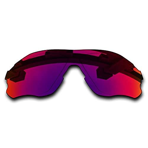 SYEMAX Lentes de repuesto para espejo polarizado, compatibles con Oakley EVZero Path (OO9308) Sunglass - Múltiples opciones, (Medianoche sol polarizado.), Talla única