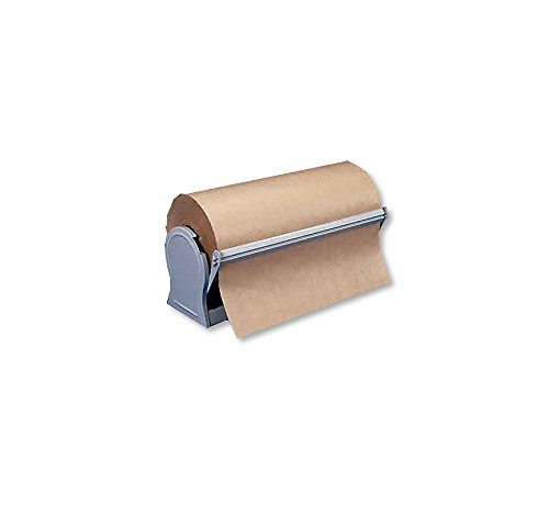 ABC Paper Cutter for 24' Rolls to 9' Diameter, Serrated Blade, All Steel. Great for Many Kinds of Paper Including Butcher, Gift Wrapping, Kraft Papers and More.