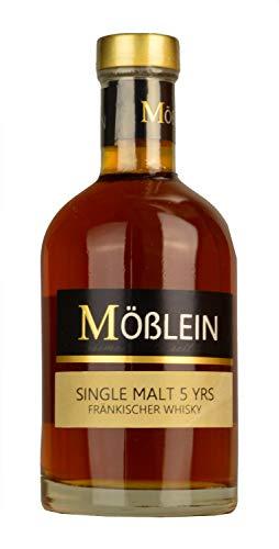 Mößlein Fränkischer Whisky 'Single Malt' 5 Jahre im Eichenholzfass gereift (1 x 0.35l)