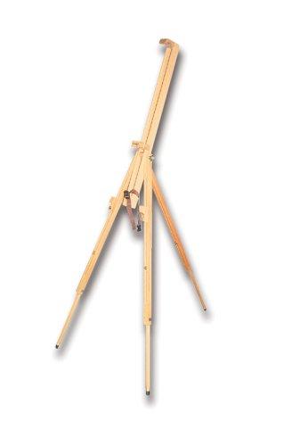 Kreul 17670 - Solo Goya Feldstaffelei, ca. 192 cm hoch, aus massivem Buchenholz, für Keilrahmen mit einer Höhe von bis zu 110 cm, zusammengelegt einfach transportierbar