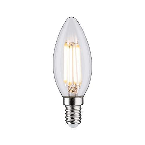 Paulmann 28643 LED Lampe Filament Kerze 6,5 Watt Klassik Leuchtmittel Klar 2700 K Warmweiß E14