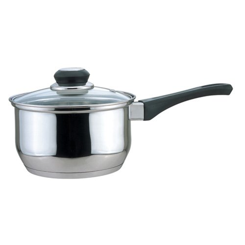 Culinary Edge Saucepan with Glass Cover, 3-Quart