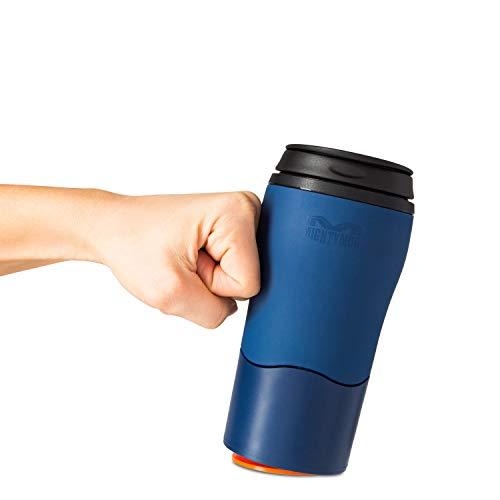 Mighty Mug Mug Isotherme, résistant, Bleu Marine, 8cm