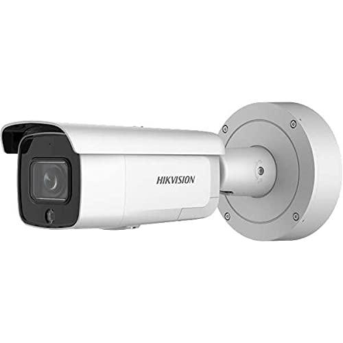 Hikvision Cámara de vigilancia Bullet DS-2CD2646G2-IZSU/SL(2,8-12 mm)(C) con 4 megapíxeles, iluminación de hasta 60 m, cámara de vigilancia profesional, cámara Acusense con filtro de falsa alarma.