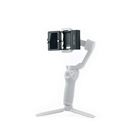 Hensych adaptador de cámara de acción de aleación de aluminio + para cardán móvil, soporte de soporte estabilizador para acción OSMO, para XIAO YI/XIAO YI 4K