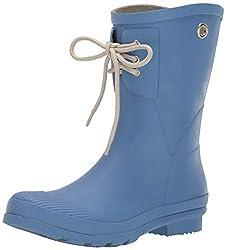 small Nomad Women's Kelly B Rain Boots, Slate Blue, 8 Medium US