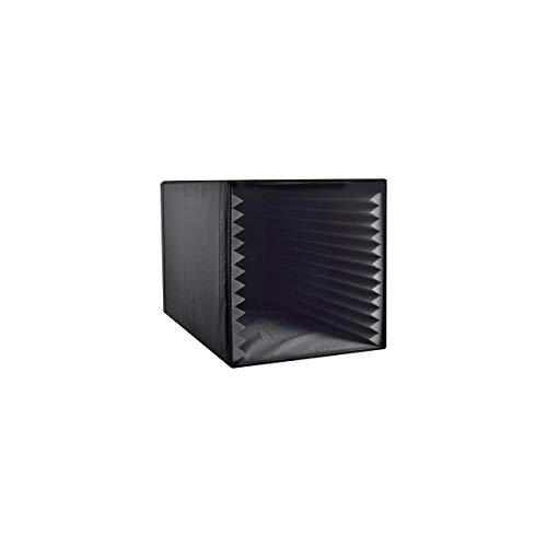 Pyle Recording Shield Box-Microphone Foam Booth Cube, Sound Dampening Filter-Audio Acoustic Noise Isolator Platform w/Wedgie Padding, Studio, Podcast, Vocal Use PSIB27