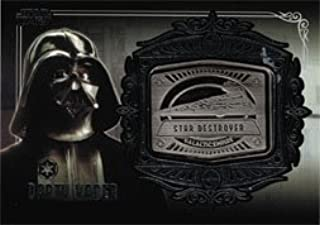 Star Wars Galactic Files Series Two Medallion Card MD-23 Darth Vader