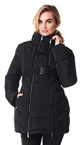 Noppies Jacket Lenny 2-Way Chaqueta premamá, Negro (Black C270), XL para Mujer