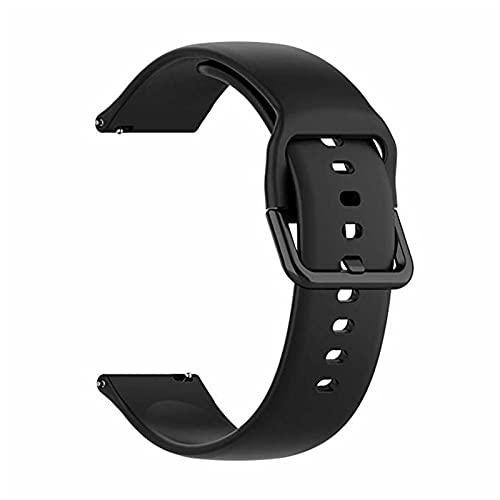 PZZZHF 2 EN 1 para Samsung Galaxy Watch Active 2 44mm 40mm Correa Smart Watch Band Silicone Band + Funda de Caja Galaxy Watch Active2 Cobertura Completa (Band Color : G, Band Width : ACTIVE2 44MM)