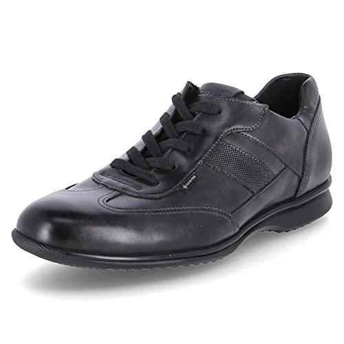 LLOYD Herren Sneaker Vernon, Männer Low-Top Sneaker,lose Einlage,Normalweit,Business,Men\'s,Man,Men,Halbschuhe,Freizeit,Asphalt/Marine,43 EU / 9 UK