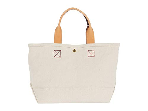 J.Crew Washed Canvas Mini Tote Natural One Size