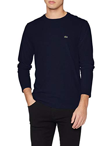 Lacoste TH6712 T-Shirt, Blu (Marine), X-Small (Taglia Produttore: 2) Uomo
