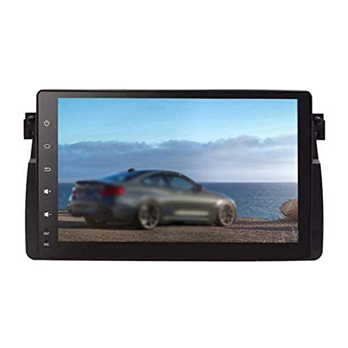 Navigazione GPS per autoradio Android 10.0 per BMW E46 9 pollici HD IPS 1G RAM + 16G ROM Display 4K / 1080P FM Bluetooth GPS DAB + USB WIFI Lettore DVD
