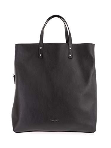 Saint Laurent Luxury Fashion Damen 6082881PL0E1000 Schwarz Tote |