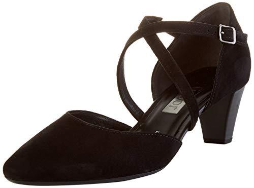Gabor Shoes Damen Fashion Pumpe, schwarz, 39 EU