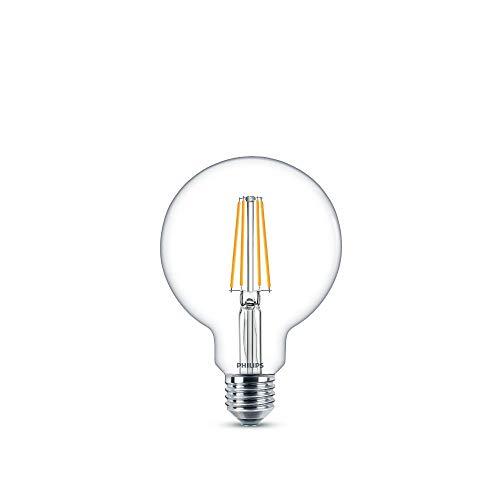 Philips LEDclassic Lampe ersetzt 60W, E27, warmweiß (2700 Kelvin), 806 Lumen, Globe
