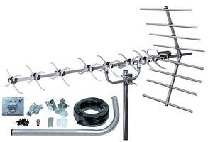SLx 27884K4 Kit Antenne TNT numérique 48 Eléments Argent