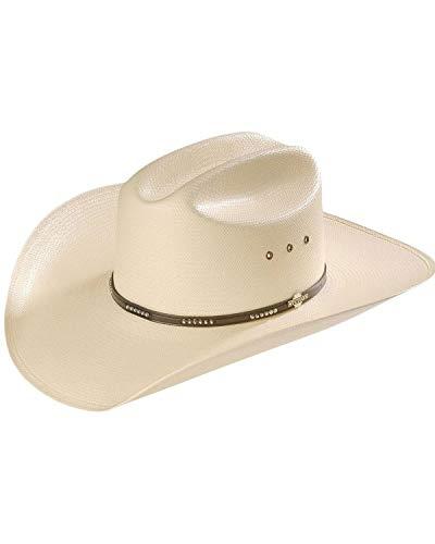 Stetson Mens 10X All Around Straw Cowboy Hat Medium//Large Natural