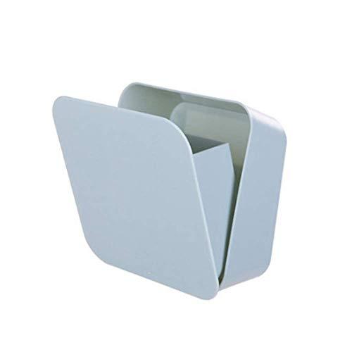 Naklejka ścienna Uszczelnione kwadratowe pudełko do przechowywania, zdejmowany stojak do przechowywania zastawy stołowej w kuchni, uchwyt na szczoteczki do zębów, kosmetyczny pojemnik do przechowywania w łazience (kolor: B)