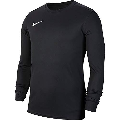 Nike Herren Langarm-Trikot Dry Park VII, Black/White, S, BV6706-010