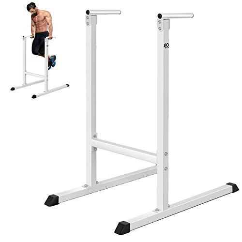 Goplus Dip Stand Dip Bar Heavy Duty Pull Up Paralle Bar Fitness for Bicep Tricep Exercise Workout in...