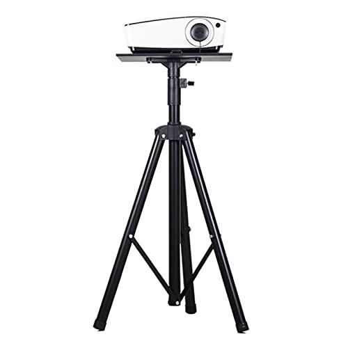 caihuashopping Atriles para proyectores Proyector Soporte portátil proyector trípode Soporte para Escenario o Altura de Estudio Ajustable hasta 70 Pulgadas Negra Soportes para proyectores